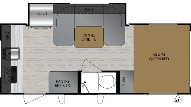 2019 No Boundaries 16.7 Floor Plan
