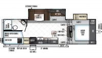 2019 Rockwood Ultra Lite 2780WS Floor Plan