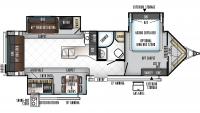 2019 Windjammer 3029V Floor Plan