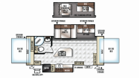 2019 Rockwood Roo 23IKSS Floor Plan