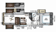 2019 Rockwood Signature Ultra Lite 8298WS Floor Plan