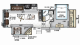 2019 Rockwood Signature Ultra Lite 8299BS Floor Plan