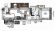 2019 Rockwood Signature Ultra Lite 8301WS Floor Plan