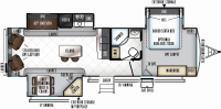 2019 Rockwood Signature Ultra Lite 8329SS Floor Plan