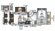 2019 Rockwood Ultra Lite 2440BS Floor Plan