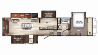 2019 Sabre 36BHQ Floor Plan