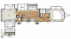 2018 Sierra Destination 404QBWD Floor Plan