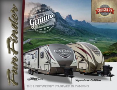 2017 Cruiser Fun Finder RV Brand Brochure Cover