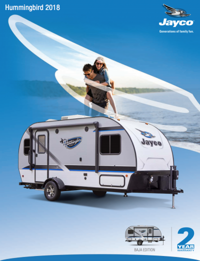 2018 Hummingbird Brochure Cover