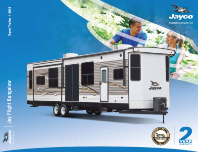 2018 Jay Flight Bungalow Brochure Cover