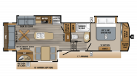 2019 Eagle 317RLOK Floor Plan