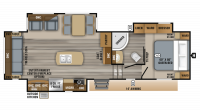 2019 Eagle HT 28.5RSTS Floor Plan