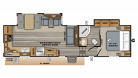 2019 Eagle HT 30.5MLOK Floor Plan