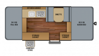 2018 Jay Sport 10SD Floor Plan