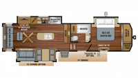 2019 North Point 315RLTS Floor Plan