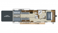 2019 Octane T31B Floor Plan