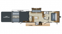 2019 Octane T32G Floor Plan