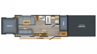2019 Octane Super Lite 210 Floor Plan