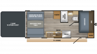 2019 Octane Super Lite 209 Floor Plan