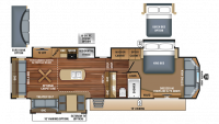 2018 Pinnacle 36SSWS Floor Plan