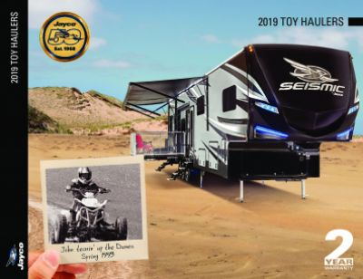 2019 Jayco Seismic RV Brochure Cover