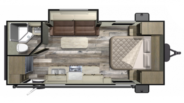 2020 Mossy Oak 20FBS Floor Plan