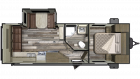 2020 Mossy Oak 23RLS Floor Plan