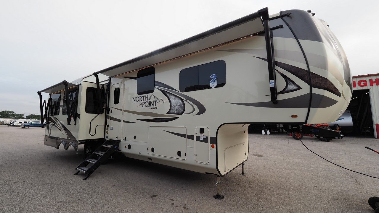 North Point Rv >> Details About 2019 Jayco North Point 315rlts Camper