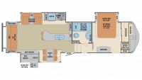 2019 Columbus 298RL Floor Plan