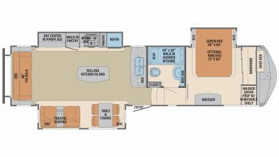 2019 Columbus 320RS Floor Plan Img