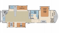 2019 Columbus 340RK Floor Plan