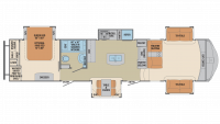2019 Columbus 381FL Floor Plan