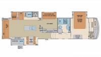 2019 Columbus Compass Series 378MBC Floor Plan