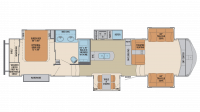 2019 Columbus Compass Series 389FLC Floor Plan