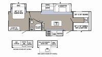 2019 Puma 32FBIS Floor Plan