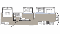 2019 Puma 39BHT Floor Plan
