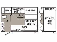 2019 Puma XLE 12RBC Floor Plan