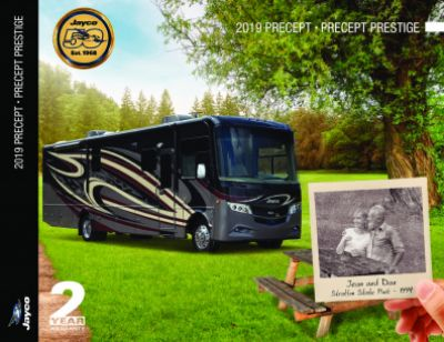 2019 Jayco Precept Prestige RV Brochure Cover