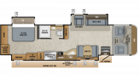2020 Precept Prestige 36H Floor Plan