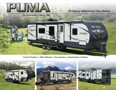 2018 Palomino Puma RV Brochure Cover