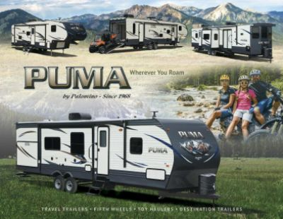 2019 Palomino Puma RV Brochure Cover
