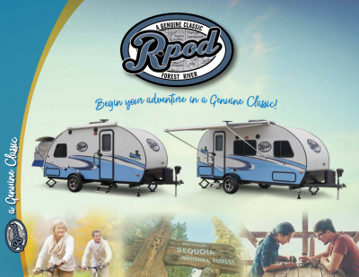 2018 Forest River R-Pod RV Brochure Cover