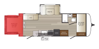 Rear Slide Floor Plan