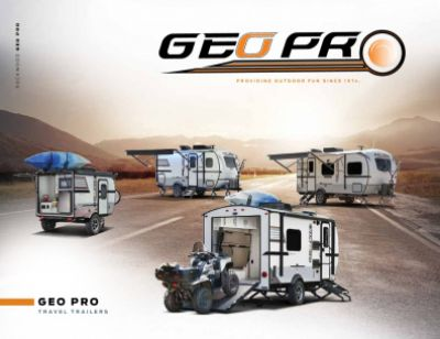 2019 Forest River Rockwood Geo Pro RV Brochure Cover