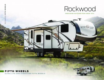 2019 Forest River Rockwood Signature Ultra Lite RV Brochure Cover