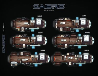 2019 Forest River Sabre RV Brochure Cover
