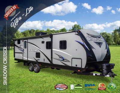 2018 Cruiser Shadow Cruiser RV Brochure Cover