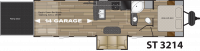 2019 Stryker 3214 Floor Plan