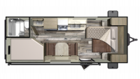 2019 Mossy Oak 20MB Floor Plan