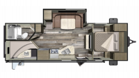 2019 Mossy Oak 24BHS Floor Plan